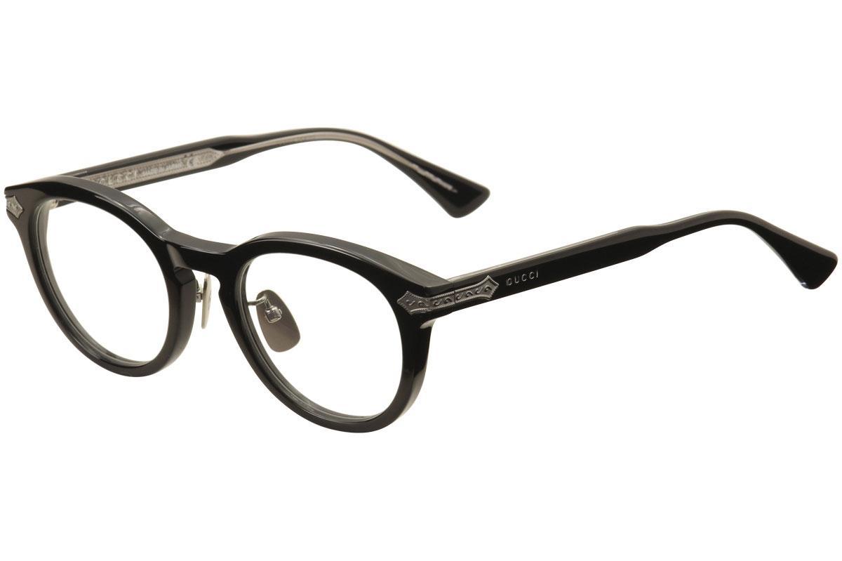 Gucci Men\'s Eyeglasses GG0071O GG/0071O Full Rim Optical Frame