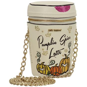 Betsey Johnson Women's Kitsch Pumpkin Spice Crossbody Handbag UPC: