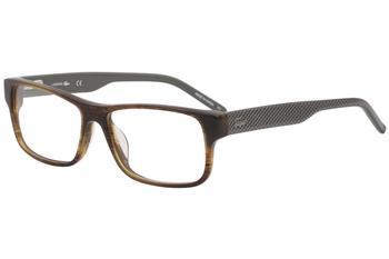 e764a98271 Lacoste 12245 Eyeglasses LA12245 Light Brown LB Optical Frame