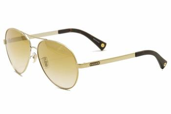 Coach Women s Elaina HC HC 7019 7019 Pilot Aviator Sunglasses 59mm 59-13-135mm