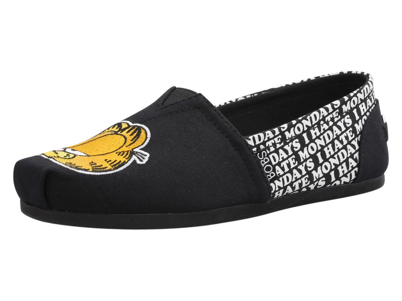 78d866f337e5 Skechers Women s Bobs Plush Monday Blues Memory Foam Alpargatas Flats Shoes