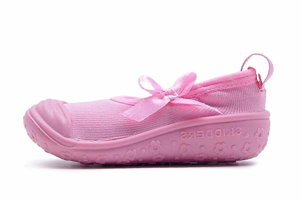 Image of Skidders Girl's Infant Todller Skidproof Mary Jane Sneakers Shoes - Pink - 8; Fits 24 Months