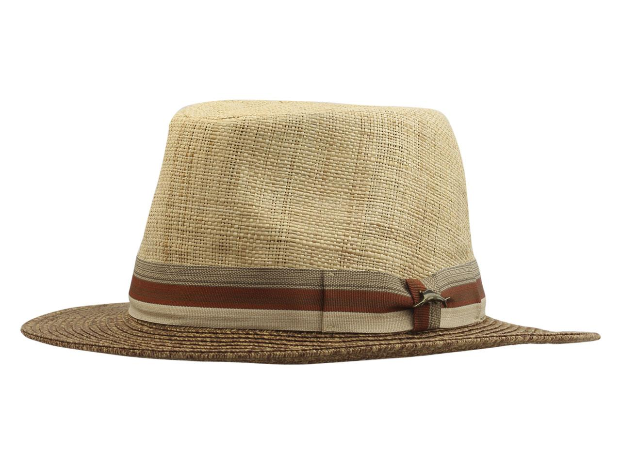 680c7825918c2 Tommy Bahama Men s Matte Raffia Safari Hat
