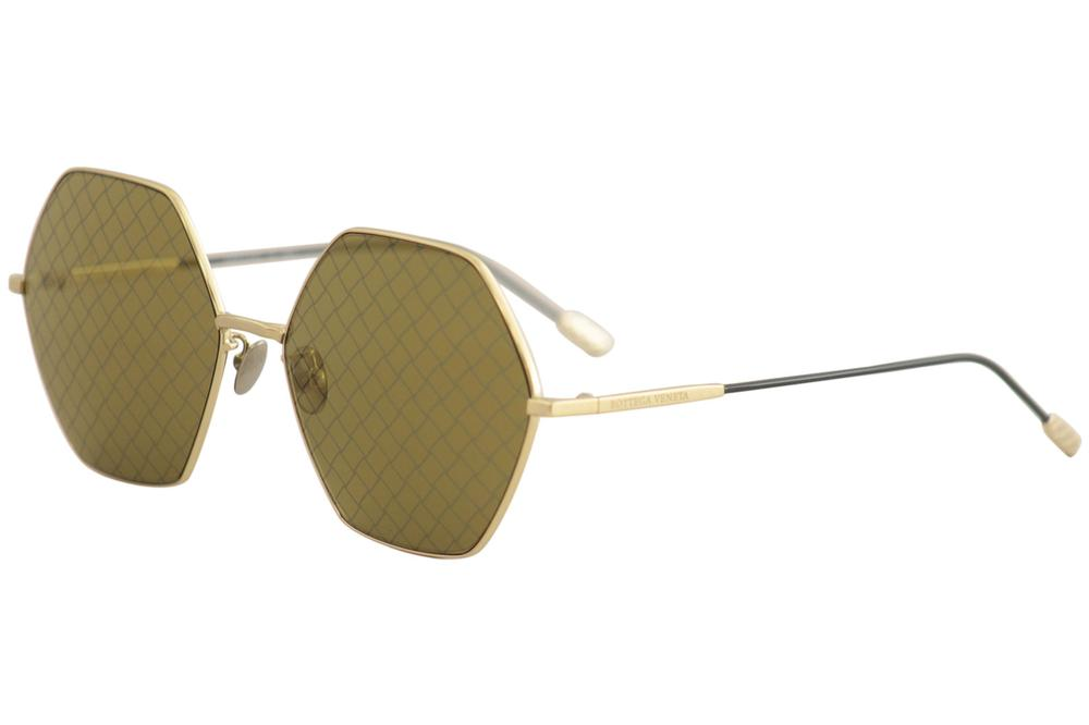 42e2328b5a6 Bottega Veneta Women s BV0201S BV 0201 S Fashion Round Sunglasses by Bottega  Veneta. 12345