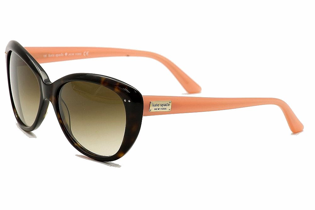 83e615989d Kate Spade Women s Angelique s Cateye Sunglasses by Kate Spade. Touch to  zoom
