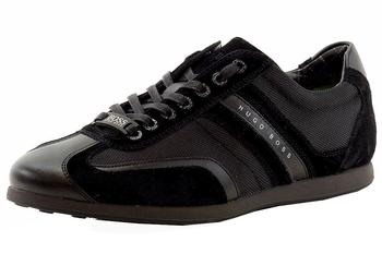Hugo Boss Men's Stiven Suede Leather Sneakers Shoes  UPC: