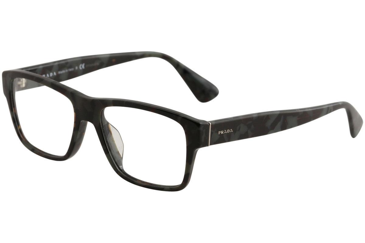 Prada Men\'s Eyeglasses VPR17SF VPR/17/SF Full Rim Optical Frame