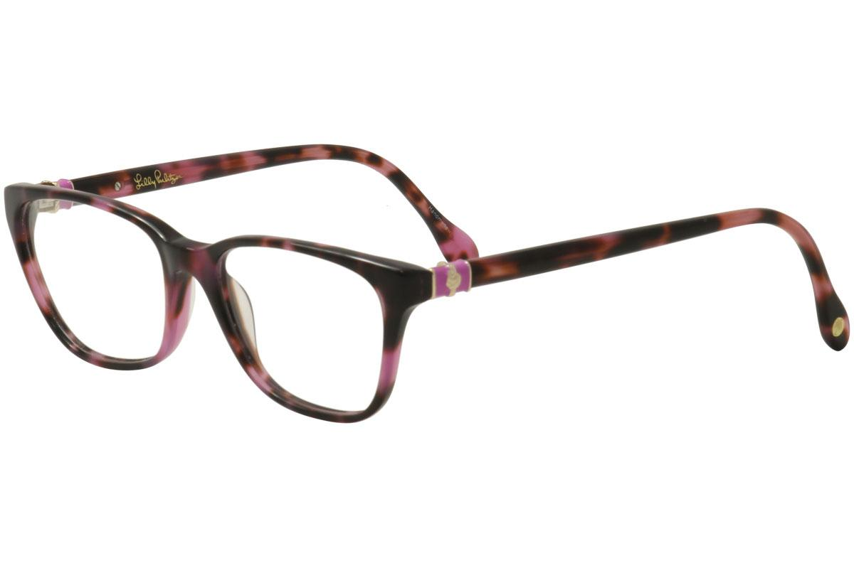 Lilly Pulitzer Women\'s Eyeglasses Sanibel Full Rim Optical Frame