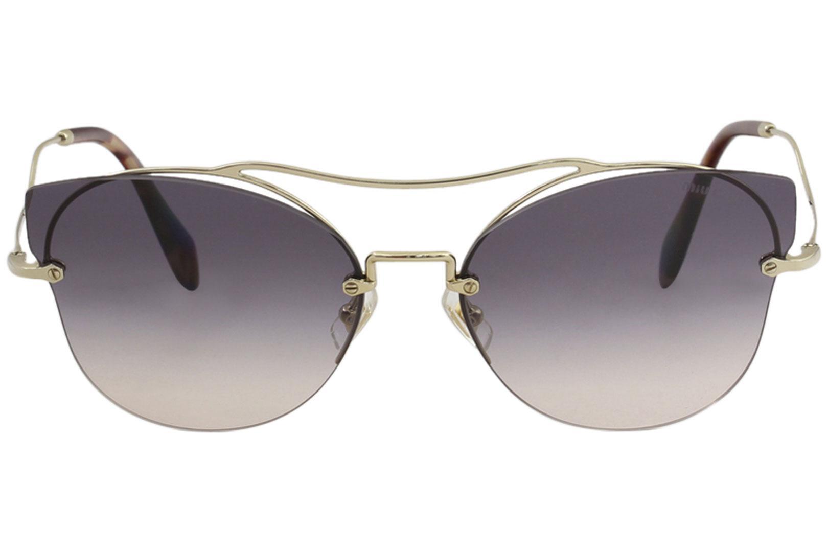 41633ad45c9 Miu Miu Women s SMU52S SMU 52S Fashion Cat Eye Sunglasses