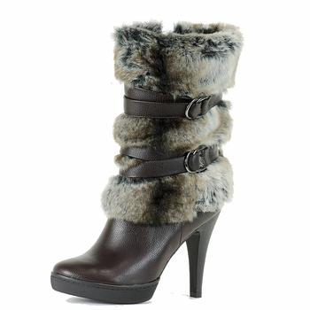 Italina Women's Fashion Mid-Calf Stiletto Boots BD1164 Shoes UPC: