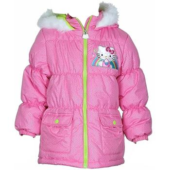 Hello Kitty Girl's HK036 Puffer Hooded Winter Jacket  UPC: