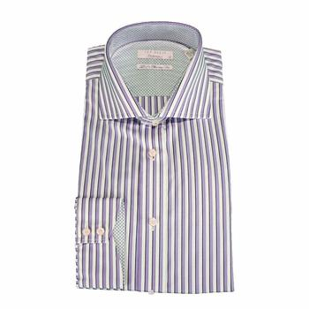 Ted Baker KroCuff Endurance Twill Stripe Long Sleeve Shirt  UPC: