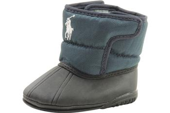Polo Ralph Lauren Boots Vancouver EZ Crest Infant Boy's Navy Shoes UPC: