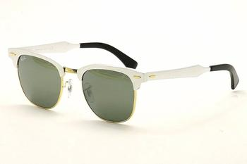 61f7a267dc6 Ray Ban Clubmaster Aluminum RB3507 RB 3507 Rayban Wayfarer Sunglasses by Ray  Ban