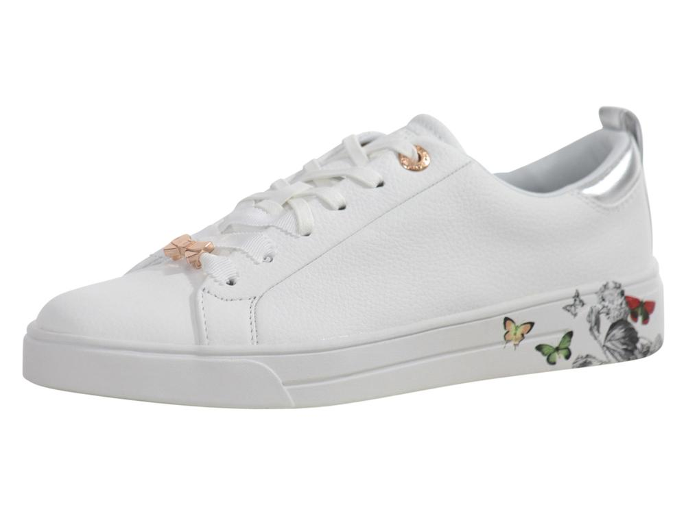 6c84be8b59fd Ted Baker Women s Mispir White Narnia Sneakers Shoes