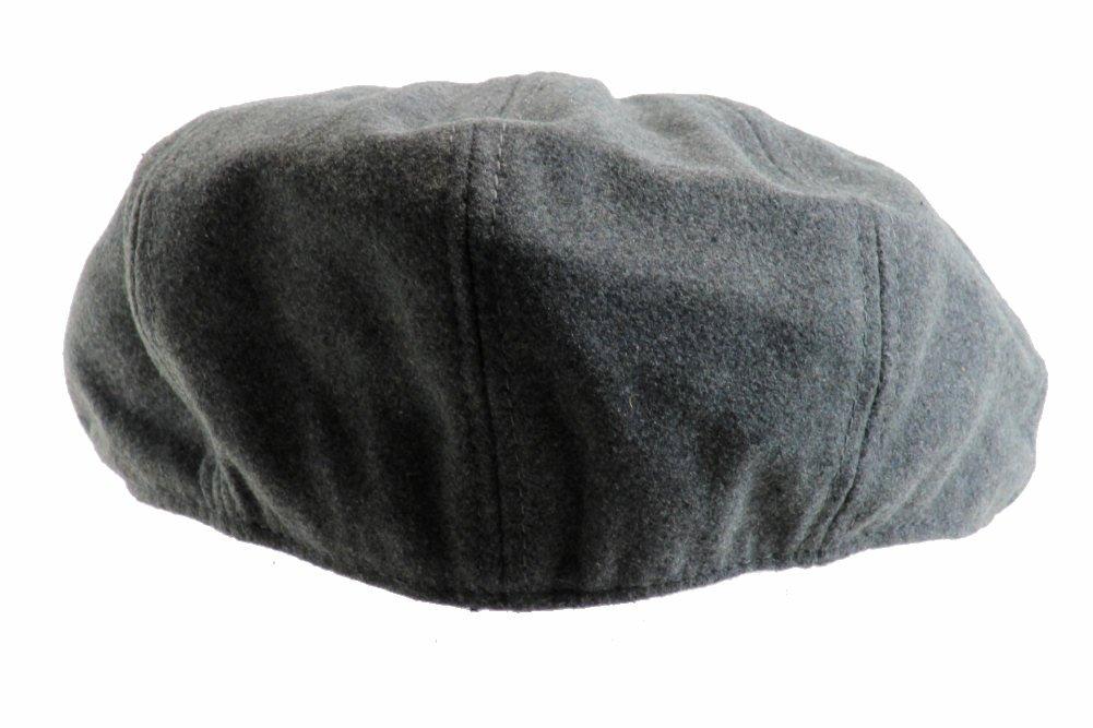 New Era EK Men s Ivy Cap Don Gatsby Melton Flat Hat 76a7b1357216