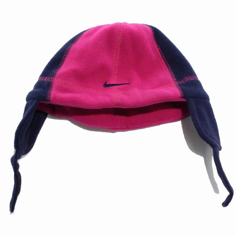 d6ffe11b95d49 Nike Swoosh Logo Toddler Girl s Fleece Beanie Hat   Mittens Set