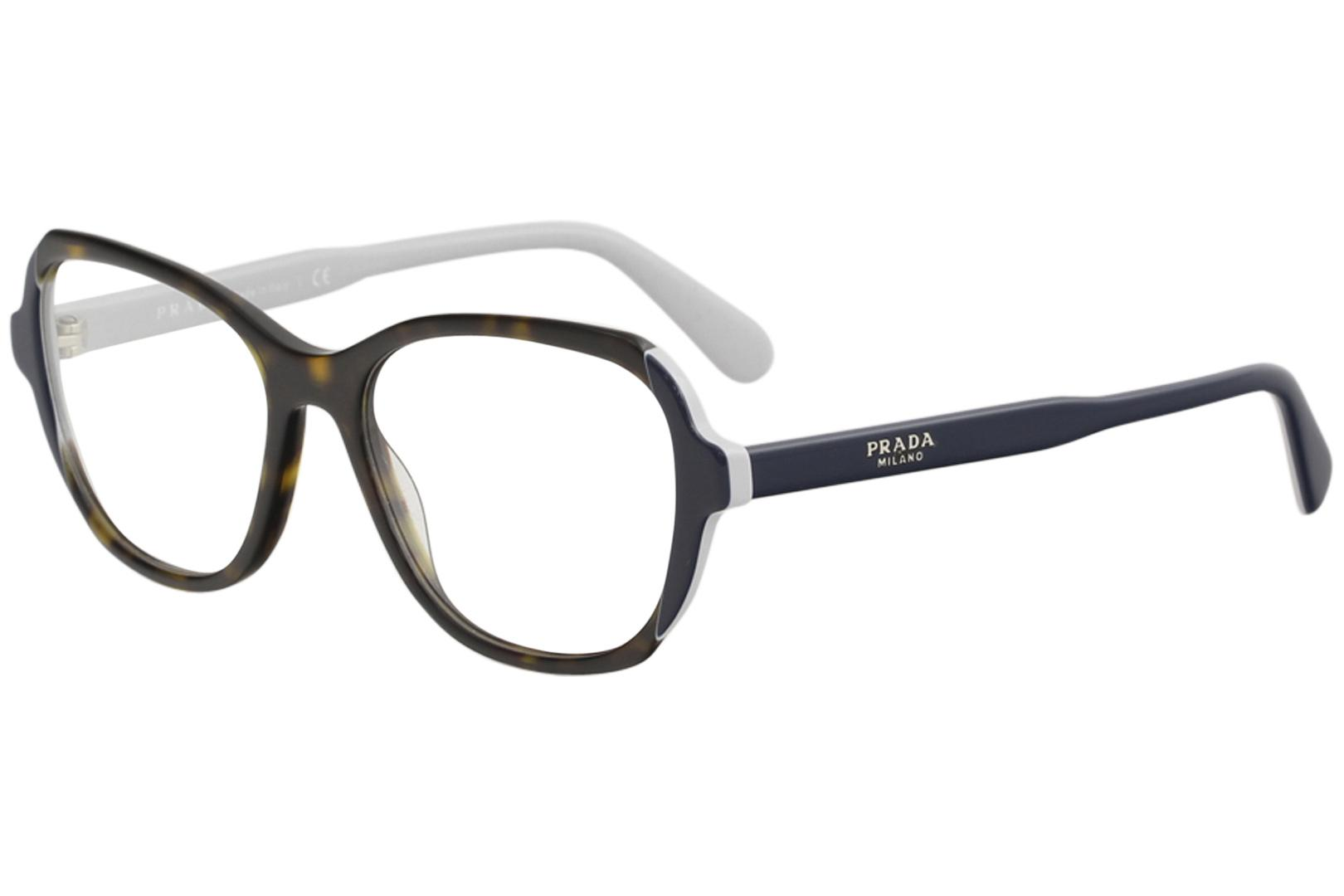 fdce85c0b5a Prada Women s Eyeglasses VPR03V VPR 03 V Full Rim Optical Frame by Prada.  Touch to zoom