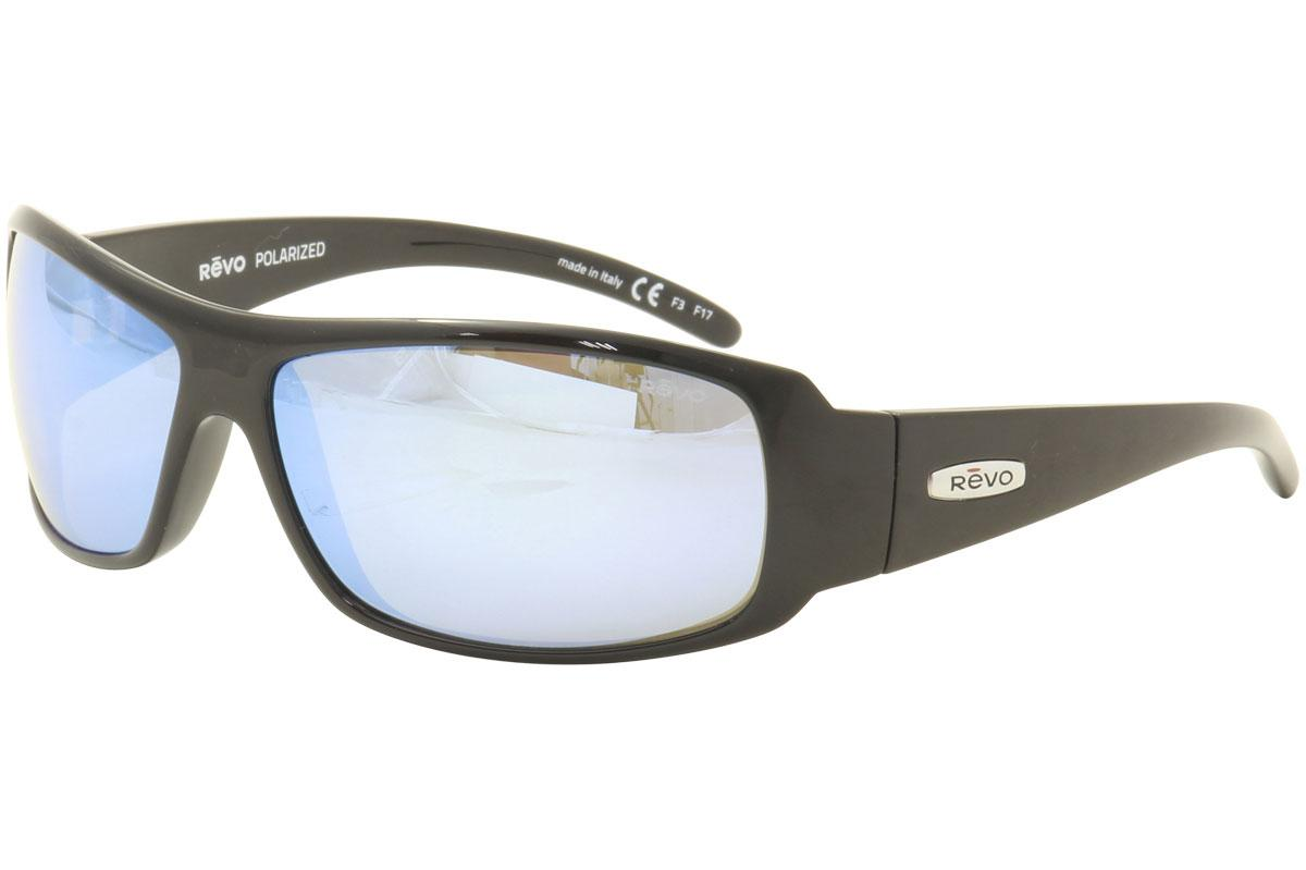 244bc94c175 Revo Men s Gunner RE5010 RE 5010 Wrap Sunglasses