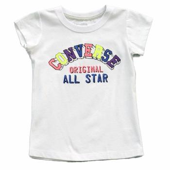Converse Girl's Original All Star Short Sleeve T-Shirt  UPC: