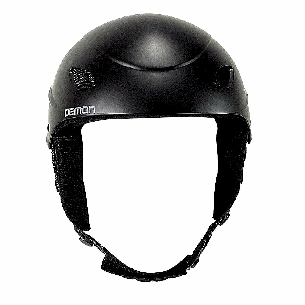 Image of Demon Multi Sport Protection Phantom Audio Helmet - Black - Small; 20.5 21.7 In