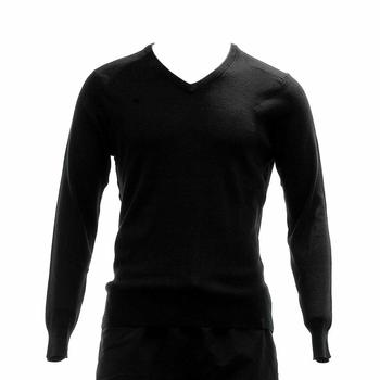 Calvin Klein Men's 40HS704 Classic Fit Chevron Tipped V-Neck Sweater  UPC: