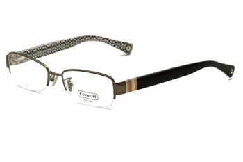 Coach Eyeglasses Women s Cecily 5027B 5027 B Semi Rim Optical Frame Lens-52 Bridge-17 Temple-135mm