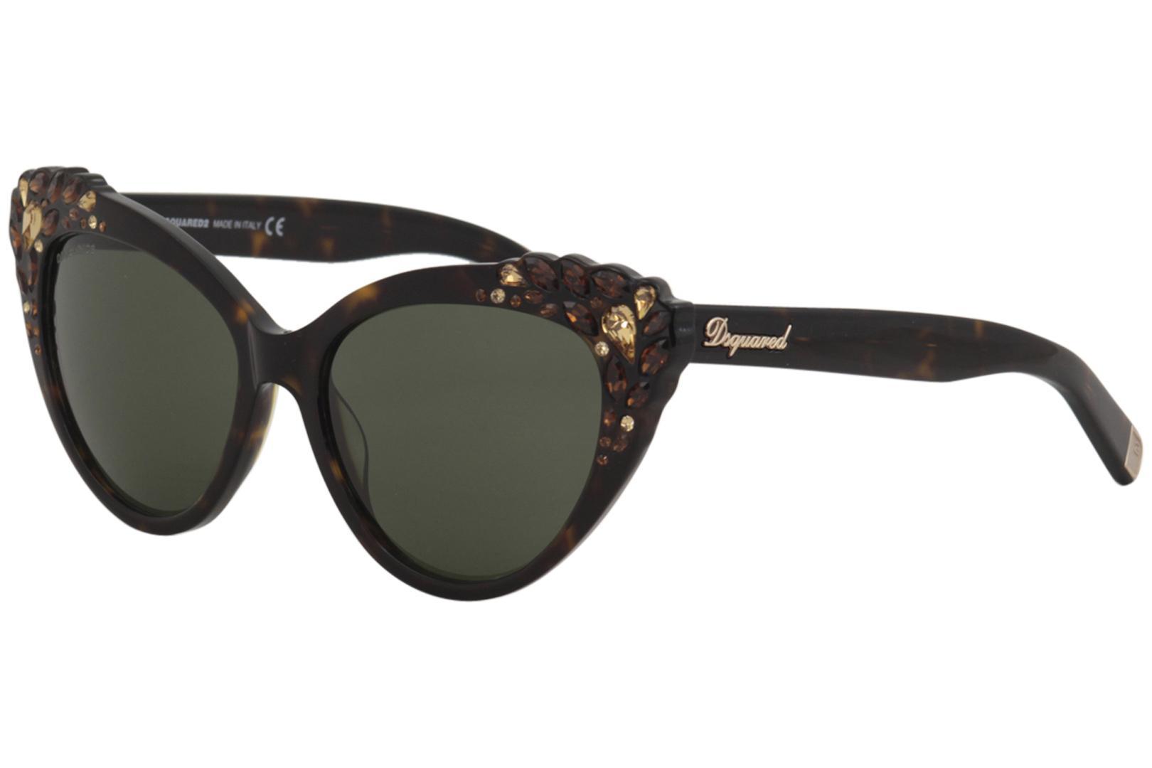 5058fe596f2 Dsquared2 Women s Elizabeth DQ168 DQ 168 Cat Eye Fashion Sunglasses