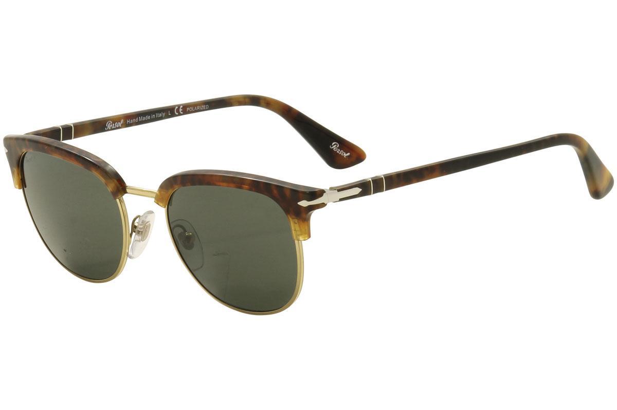 Persol Men's Caffe 3105S 3105/S Square Sunglasses
