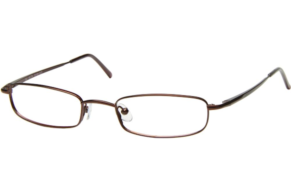 Image of Tuscany Men's Eyeglasses 466 Full Rim Optical Frame - Brown   02 - Lens 47 Bridge 20 Temple 145mm