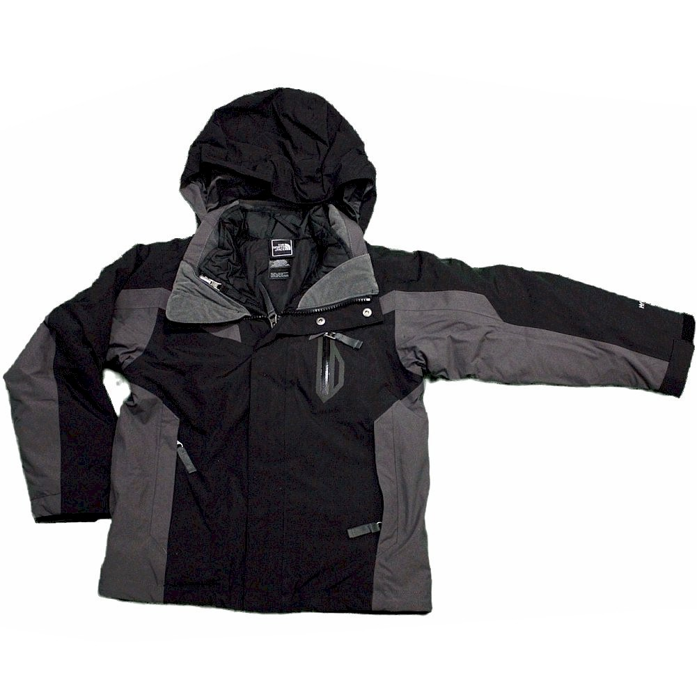 Image of The North Face Waterproof Durable Boundary Triclimate Winter Jacket - Black - 2X Small