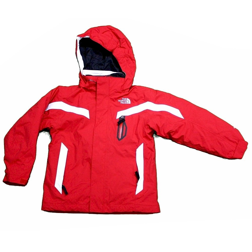 Image of The North Face Waterproof Durable Boundary Triclimate Winter Jacket - Red - 2X Small