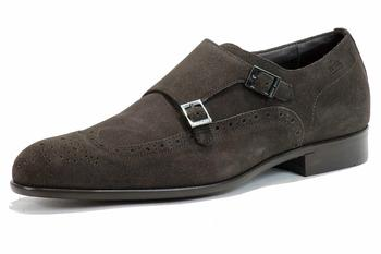 Hugo Boss Men's Fashion Oxford Brossio S Suede Shoes 50255331  UPC: