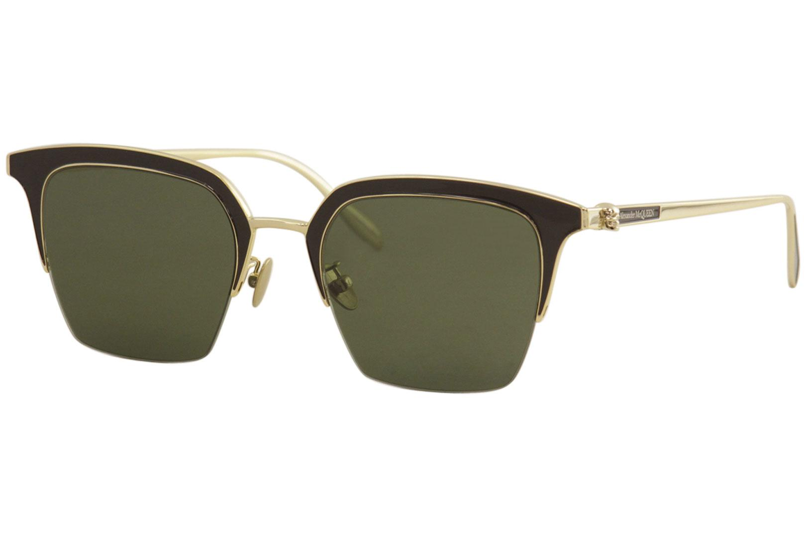 Image of - Gold Brown/Green   002 - Lens 54 Bridge 22 Temple 150mm (Asian Fit)