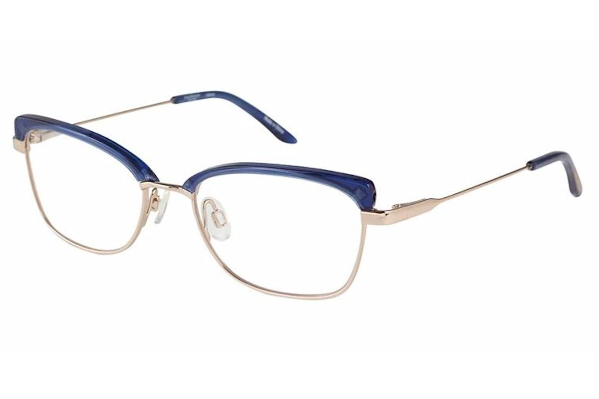 Image of Isaac Mizrahi Women's Eyeglasses IM30010 IM/30010 Full Rim Optical Frame - Blue - Lens 50 Bridge 17 Temple 135mm