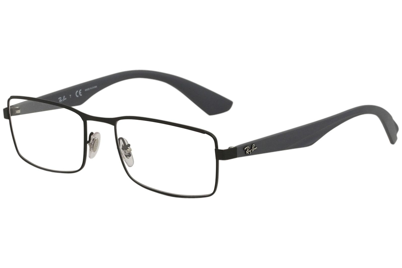 9292497594c7 Ray Ban Eyeglasses RX6332 RX 6332 2822 Matte Black Full Rim Optical ...