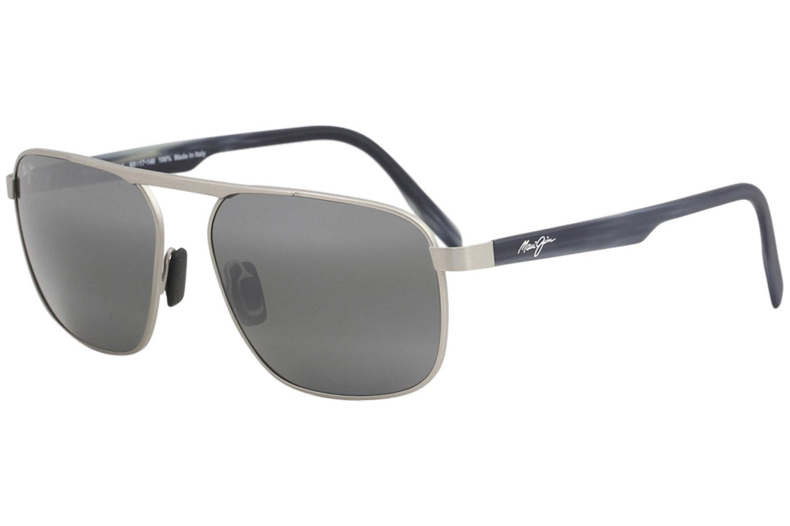 8470edf0bdf Maui Jim Men s Waihee-Ridge MJ777 MJ 777 Fashion Pilot Polarized Sunglasses