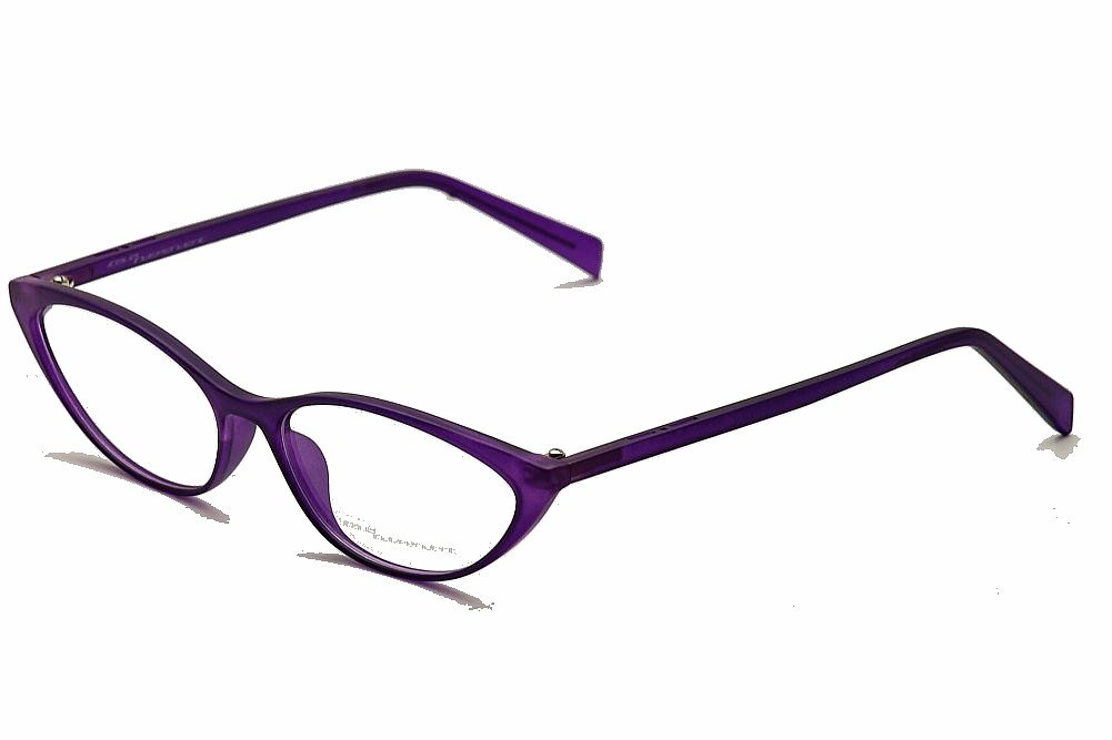 Image of Italia Independent Women's Eyeglasses I Thin 569 Cat Eye Optical Frame - Purple - Lens 53 Bridge 15 Temple 140mm