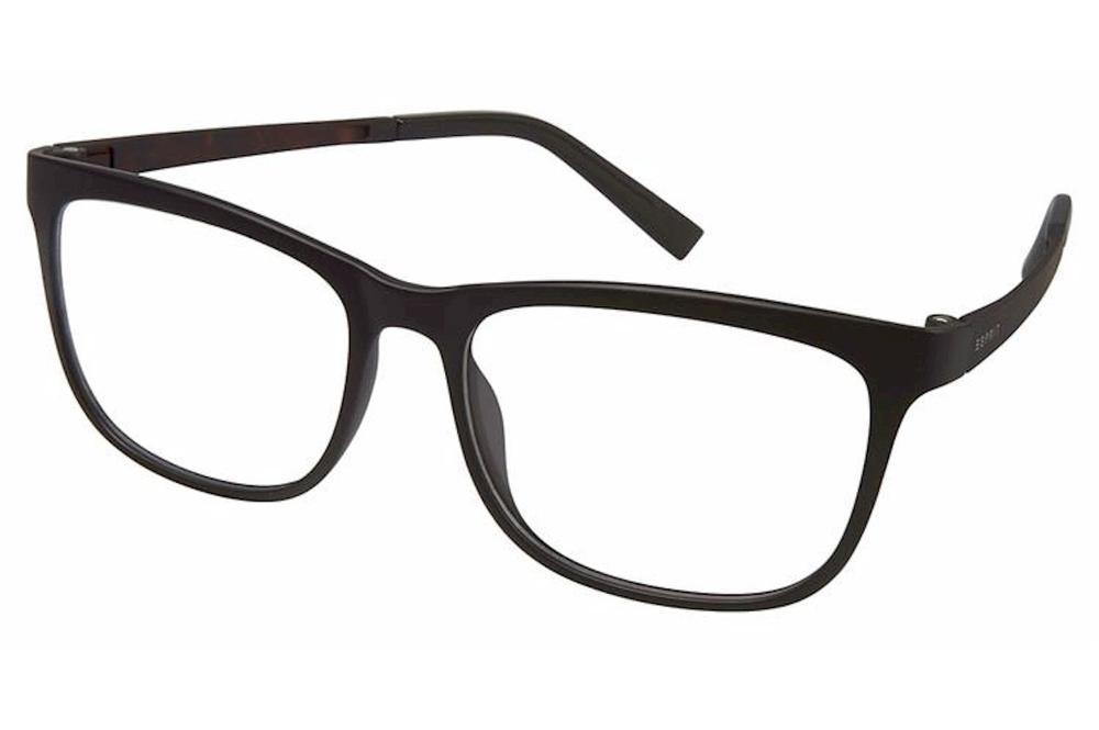 Image of Esprit Women's Eyeglasses ET17531 ET/17531 Full Rim Optical Frame - Black - Lens 52 Bridge 15 Temple 135mm