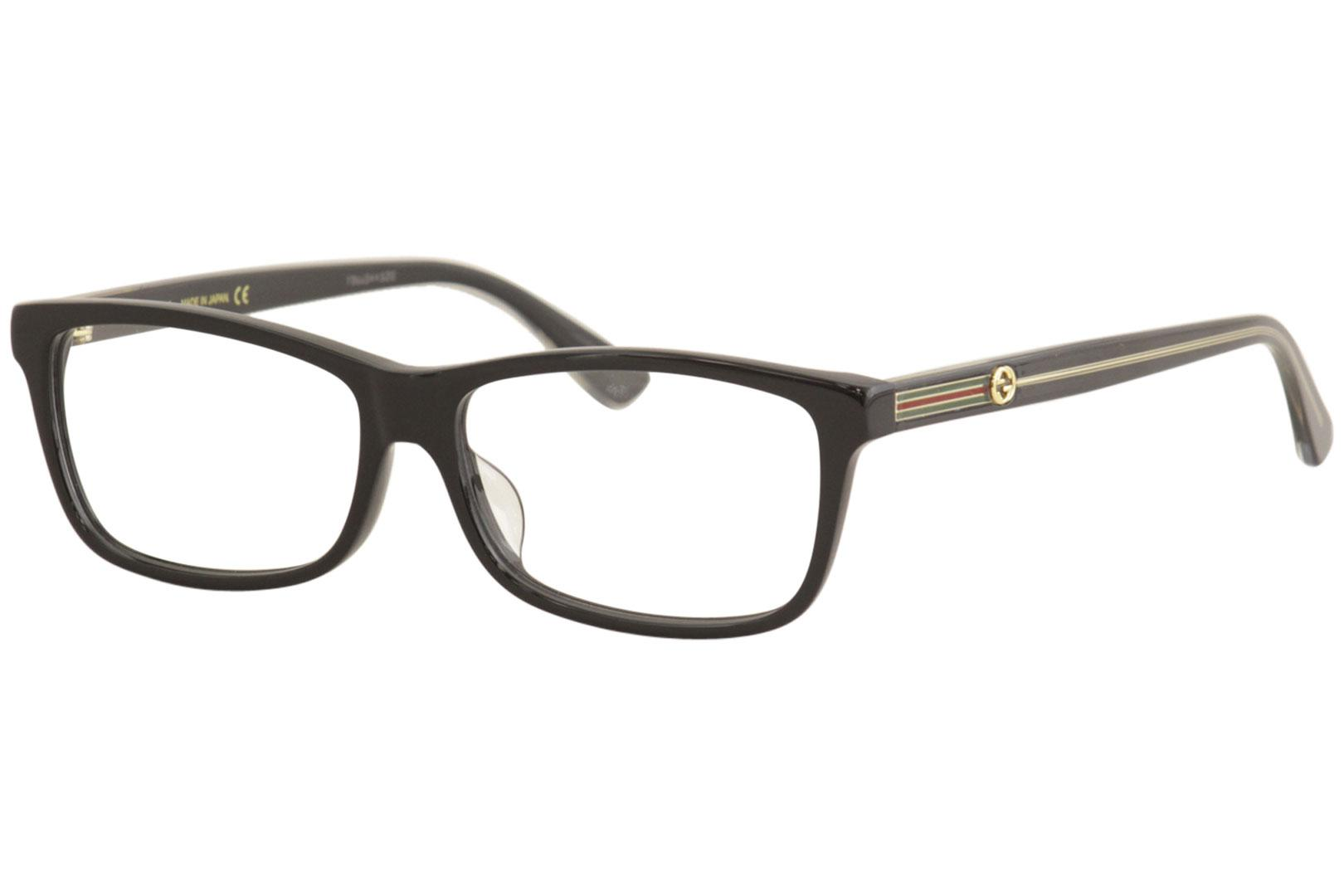 Image of - Black/Gold/Green/Red   001 - Lens 55 Bridge 14 Temple 145mm (Asian Fit)