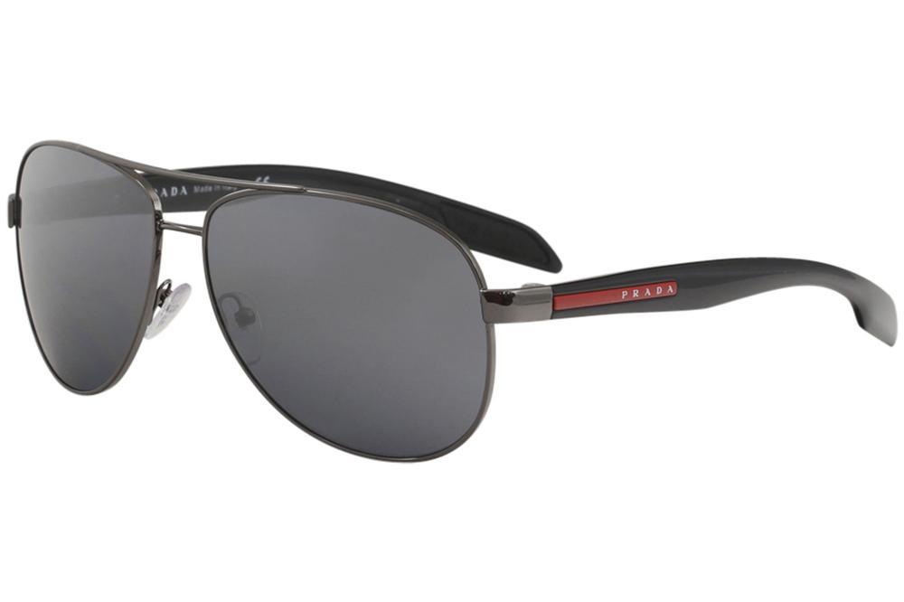 44acb01c6f74 Prada Linea Rossa Men's SPS53P SPS/53P Fashion Pilot Sunglasses