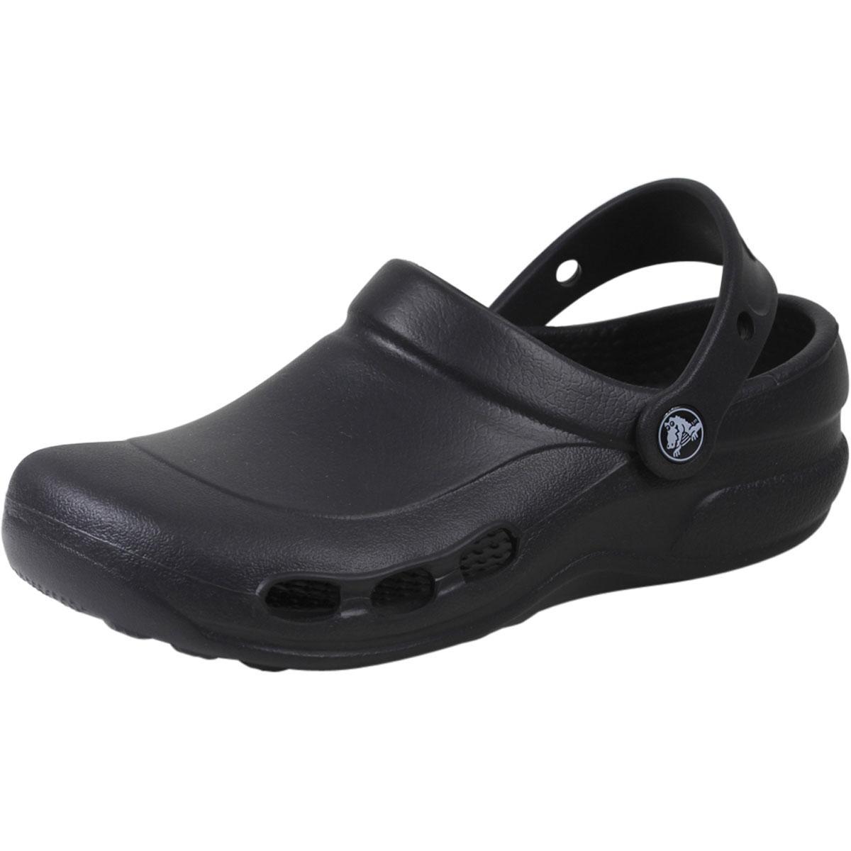Image of Crocs At Work Specialist Vent Clogs Sandals Shoes - Black - 5 D(M) US/7 B(M) US