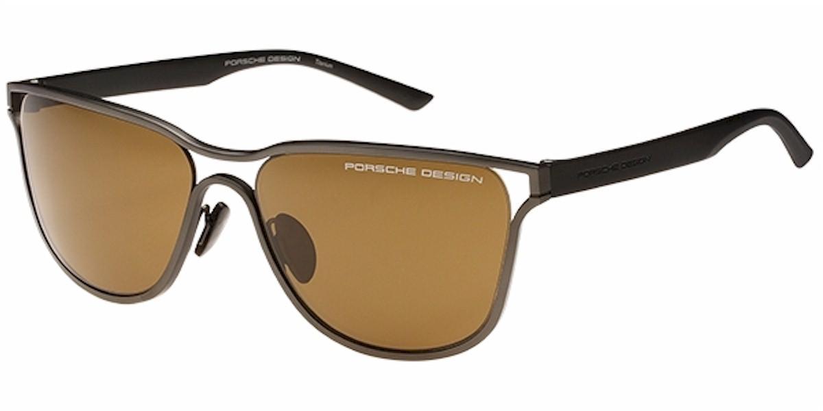 794c9129534 Porsche Design Men s P8647 P 8647 Square Sunglasses
