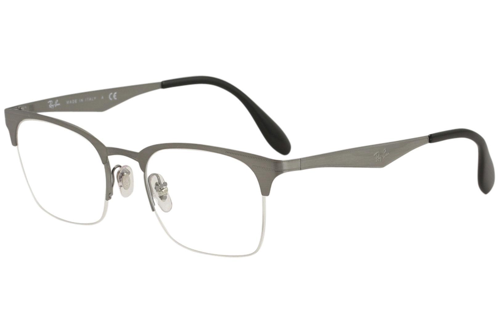 94bed9b82701 Ray Ban Eyeglasses RX6360 RB/6360 RayBan Half Rim Optical Frame