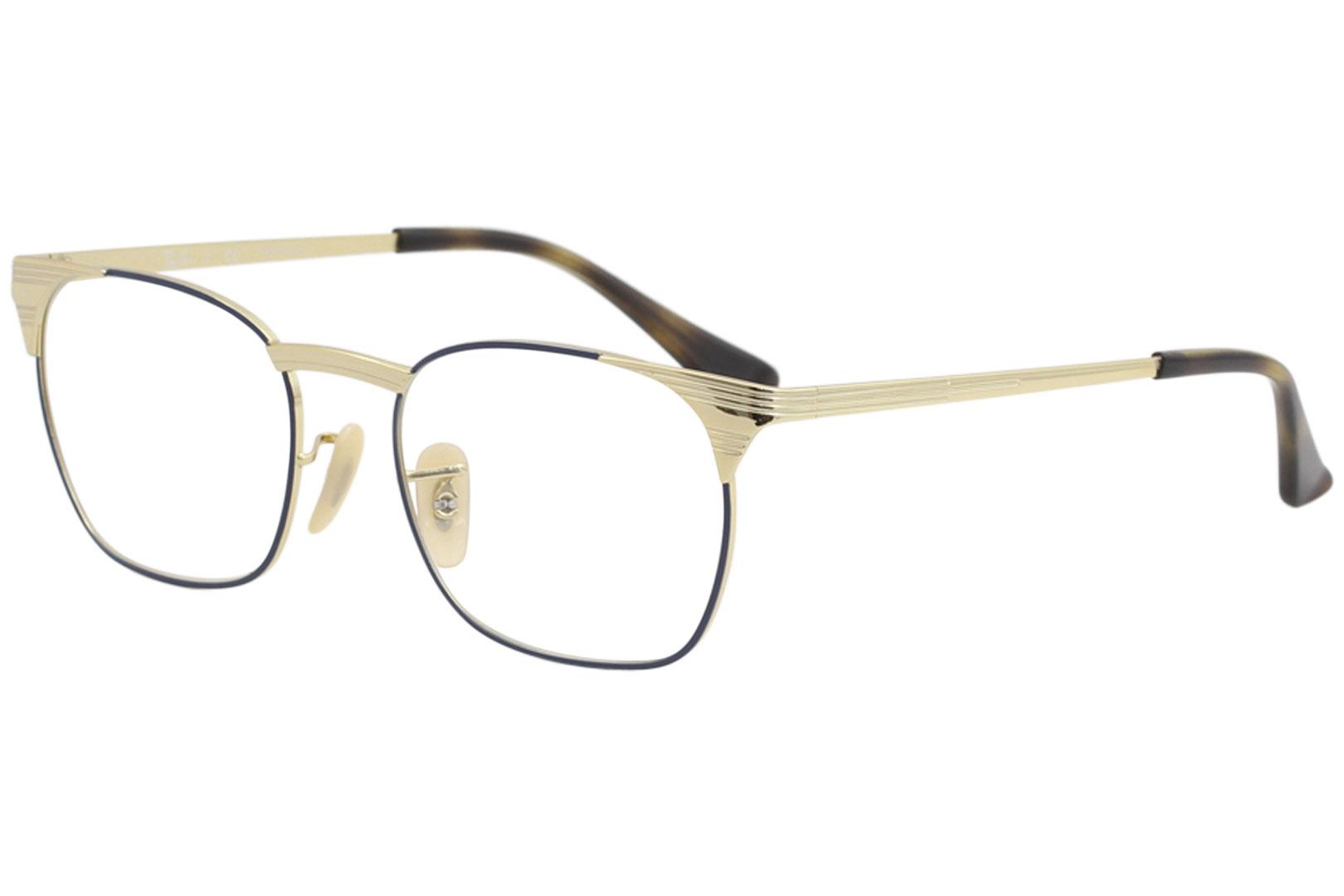6962a9042fc9 Ray Ban Eyeglasses RX6386 RB 6386 RayBan 2903 Gold Top Blue Optical ...