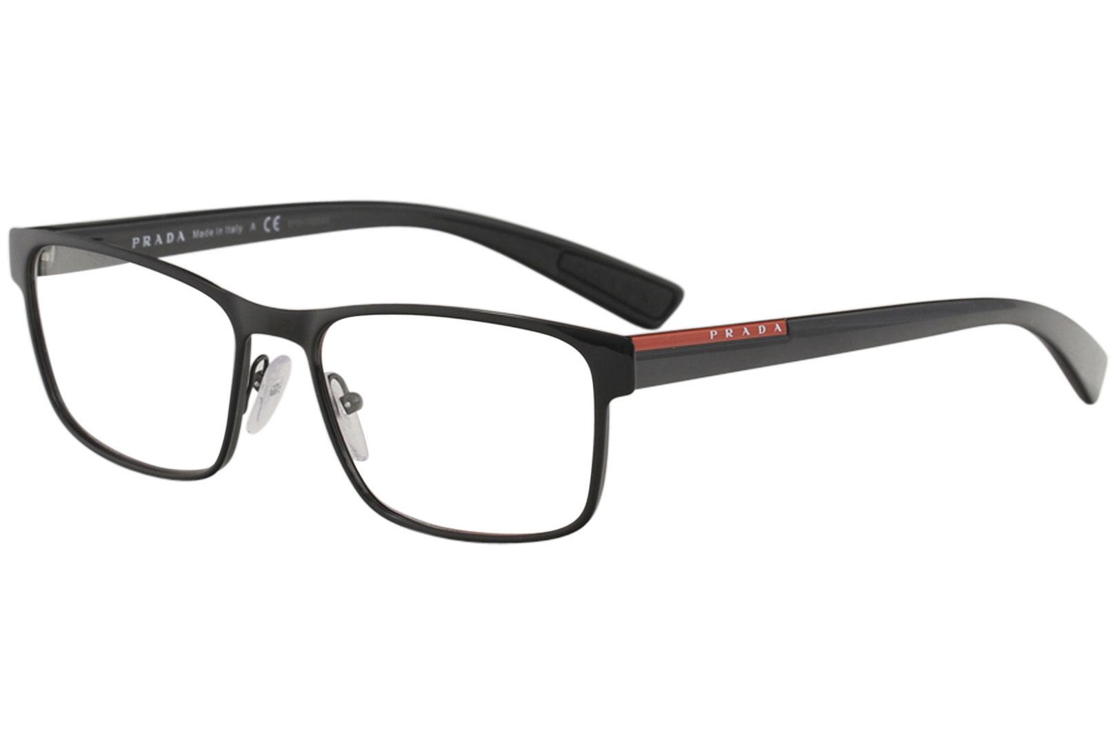 d9ddcedb3f ... Men s Eyeglasses VPS50G VPS 50G Full Rim Optical Frame by Prada Linea  Rossa. Touch to zoom