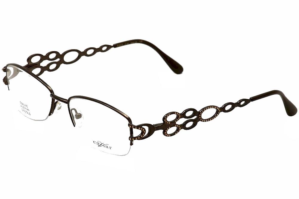 Caviar Women\'s Eyeglasses M2312 M/2312 Semi Rim Optical Frame