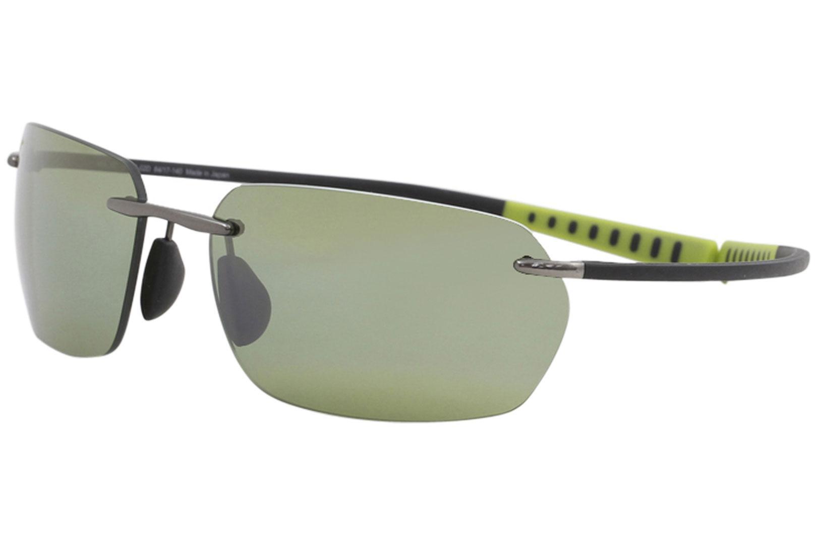 e3921bfe12 Maui Jim Men s Alakai i MJ743 MJ 743 Fashion Rectangle Polarized Sunglasses