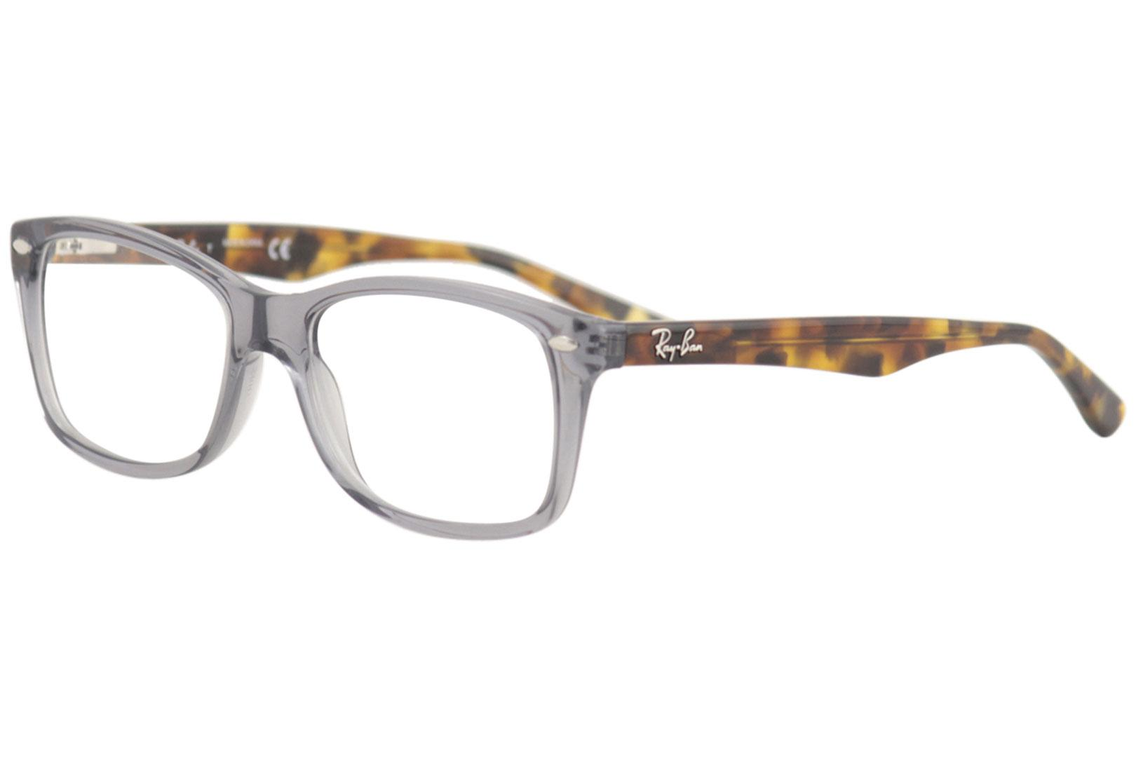 Ray Ban Women s Eyeglasses RX5228 RX 5228 5629 Opal Grey Optical ... b974a0154f