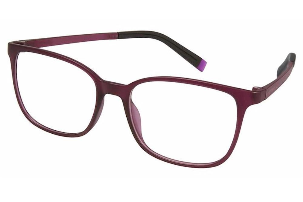 Image of Esprit Women's Eyeglasses ET17535 ET/17535 Full Rim Optical Frame - Purple   577 - Lens 49 Bridge 15 Temple 135mm